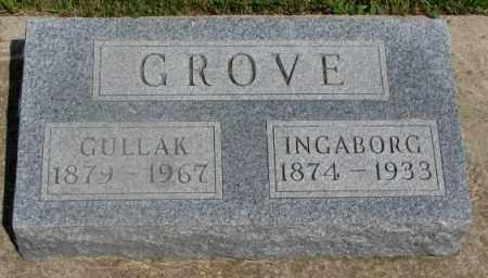 GROVE, GULLAK - Clay County, South Dakota   GULLAK GROVE - South Dakota Gravestone Photos