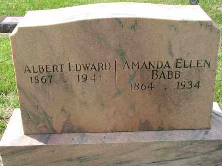 HATCH, AMANDA ELLEN - Clay County, South Dakota | AMANDA ELLEN HATCH - South Dakota Gravestone Photos