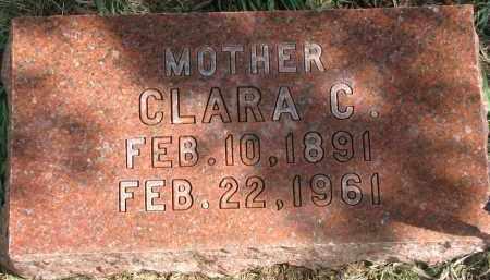 HATCH, CLARA C. - Clay County, South Dakota   CLARA C. HATCH - South Dakota Gravestone Photos
