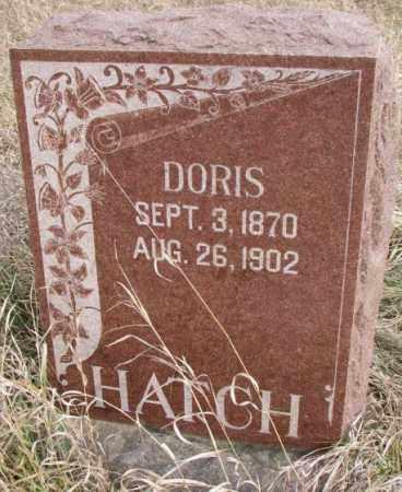 HATCH, DORIS - Clay County, South Dakota | DORIS HATCH - South Dakota Gravestone Photos
