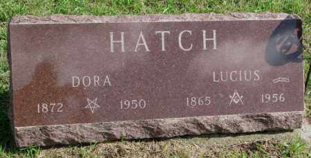 HATCH, DORA - Clay County, South Dakota   DORA HATCH - South Dakota Gravestone Photos