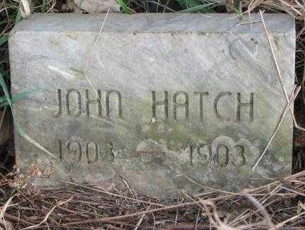HATCH, JOHN - Clay County, South Dakota   JOHN HATCH - South Dakota Gravestone Photos