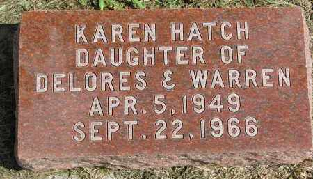 HATCH, KAREN - Clay County, South Dakota   KAREN HATCH - South Dakota Gravestone Photos