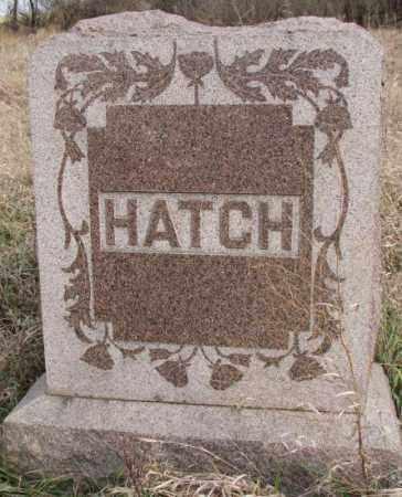 HATCH, PLOT - Clay County, South Dakota | PLOT HATCH - South Dakota Gravestone Photos