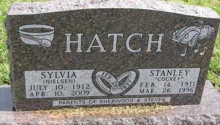 NIELSEN HATCH, SYLVIA - Clay County, South Dakota | SYLVIA NIELSEN HATCH - South Dakota Gravestone Photos