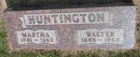 HUNTINGTON, WALTER - Clay County, South Dakota | WALTER HUNTINGTON - South Dakota Gravestone Photos