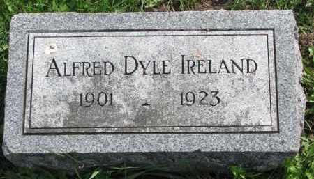IRELAND, ALFRED DYLE - Clay County, South Dakota | ALFRED DYLE IRELAND - South Dakota Gravestone Photos