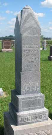 JOHNSON, HENDRIK - Clay County, South Dakota | HENDRIK JOHNSON - South Dakota Gravestone Photos
