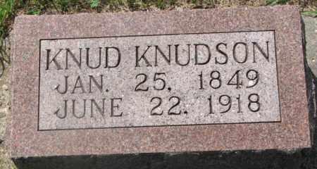 KNUDSON, KNUD - Clay County, South Dakota | KNUD KNUDSON - South Dakota Gravestone Photos