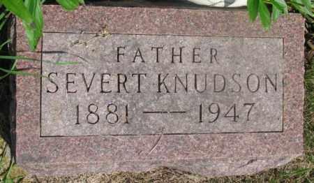 KNUDSON, SEVERT - Clay County, South Dakota | SEVERT KNUDSON - South Dakota Gravestone Photos