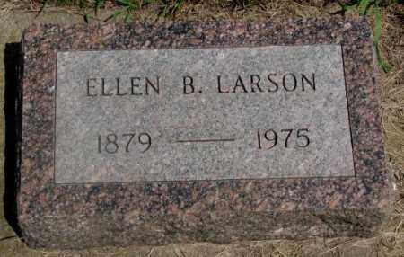 LARSON, ELLEN B. - Clay County, South Dakota   ELLEN B. LARSON - South Dakota Gravestone Photos