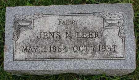 LEER, JENS N. - Clay County, South Dakota   JENS N. LEER - South Dakota Gravestone Photos