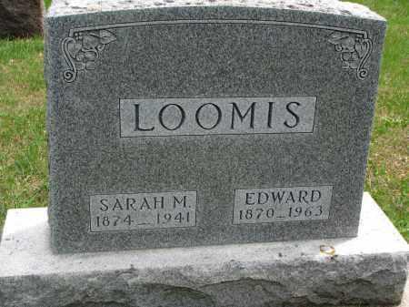 LOOMIS, EDWARD - Clay County, South Dakota   EDWARD LOOMIS - South Dakota Gravestone Photos