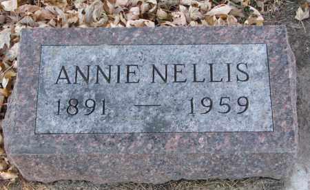 NELLIS, ANNIE - Clay County, South Dakota   ANNIE NELLIS - South Dakota Gravestone Photos