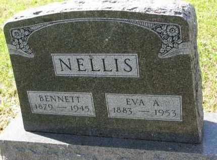 NELLIS, EVA A. - Clay County, South Dakota | EVA A. NELLIS - South Dakota Gravestone Photos