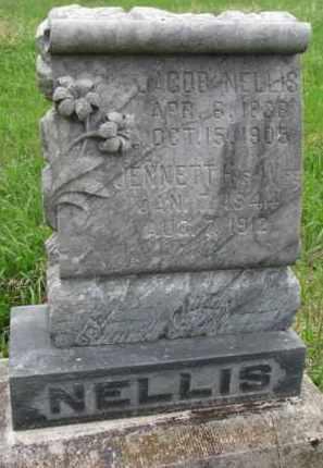 NELLIS, JACOB - Clay County, South Dakota   JACOB NELLIS - South Dakota Gravestone Photos