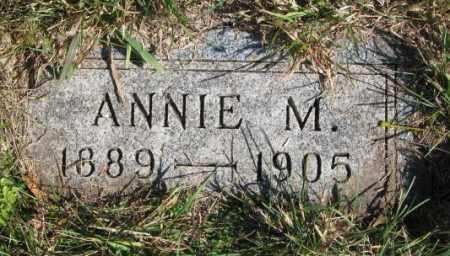 OLSON, ANNIE M. - Clay County, South Dakota | ANNIE M. OLSON - South Dakota Gravestone Photos