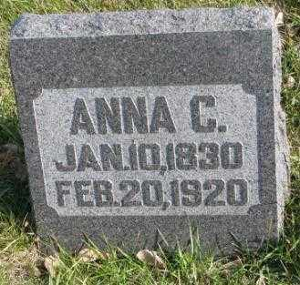 OLSON, ANNA C. - Clay County, South Dakota   ANNA C. OLSON - South Dakota Gravestone Photos