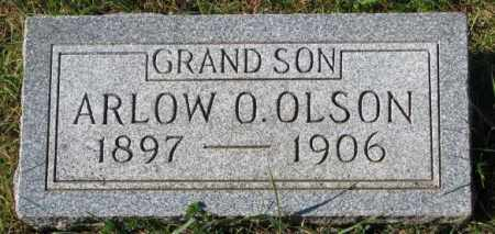OLSON, ARLOW O. - Clay County, South Dakota   ARLOW O. OLSON - South Dakota Gravestone Photos
