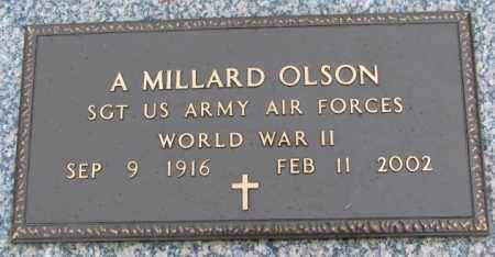 OLSON, A. MILLARD - Clay County, South Dakota | A. MILLARD OLSON - South Dakota Gravestone Photos