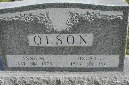 OLSON, ANNA M. - Clay County, South Dakota | ANNA M. OLSON - South Dakota Gravestone Photos