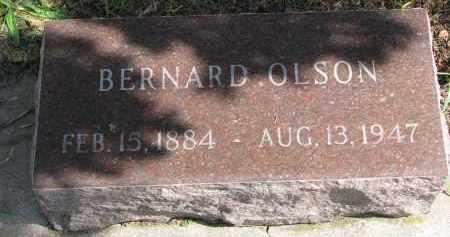 OLSON, BERNARD - Clay County, South Dakota | BERNARD OLSON - South Dakota Gravestone Photos