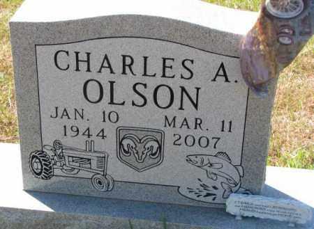 OLSON, CHARLES A. - Clay County, South Dakota | CHARLES A. OLSON - South Dakota Gravestone Photos