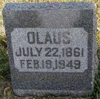 OLSON, CLAUS - Clay County, South Dakota | CLAUS OLSON - South Dakota Gravestone Photos