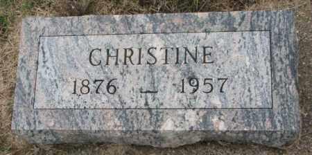 OLSON, CHRISTINE - Clay County, South Dakota | CHRISTINE OLSON - South Dakota Gravestone Photos