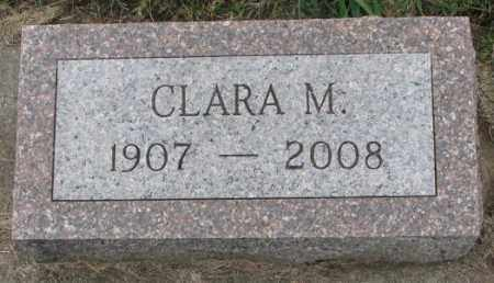 OLSON, CLARA M. - Clay County, South Dakota | CLARA M. OLSON - South Dakota Gravestone Photos