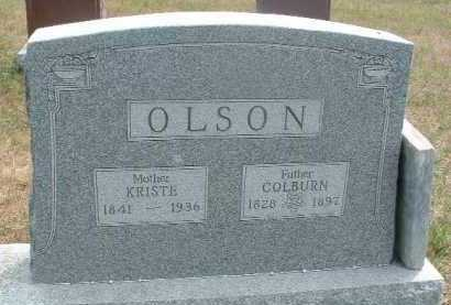 OLSON, COLBURN - Clay County, South Dakota | COLBURN OLSON - South Dakota Gravestone Photos
