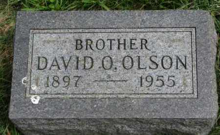 OLSON, DAVID O. - Clay County, South Dakota | DAVID O. OLSON - South Dakota Gravestone Photos