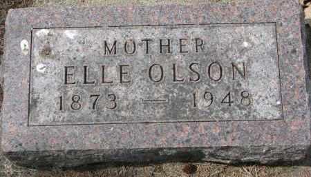 OLSON, ELLE - Clay County, South Dakota | ELLE OLSON - South Dakota Gravestone Photos