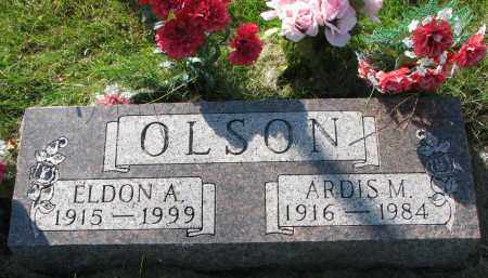 OLSON, ELDON A. - Clay County, South Dakota | ELDON A. OLSON - South Dakota Gravestone Photos