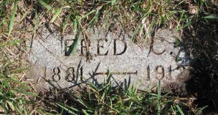 OLSON, FRED C. - Clay County, South Dakota | FRED C. OLSON - South Dakota Gravestone Photos