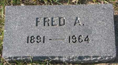 OLSON, FRED A. - Clay County, South Dakota | FRED A. OLSON - South Dakota Gravestone Photos