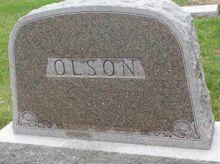OLSON, FAMILY STONE - Clay County, South Dakota | FAMILY STONE OLSON - South Dakota Gravestone Photos