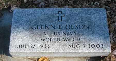 OLSON, GLENN E. - Clay County, South Dakota | GLENN E. OLSON - South Dakota Gravestone Photos