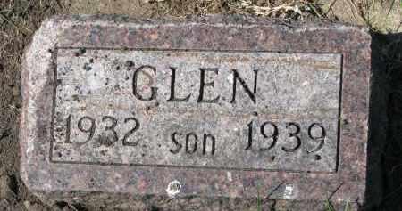 OLSON, GLEN - Clay County, South Dakota | GLEN OLSON - South Dakota Gravestone Photos