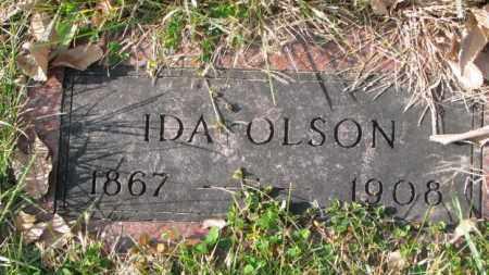 OLSON, IDA - Clay County, South Dakota | IDA OLSON - South Dakota Gravestone Photos
