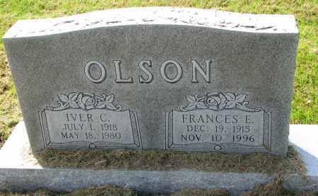 OLSON, IVER C. - Clay County, South Dakota | IVER C. OLSON - South Dakota Gravestone Photos