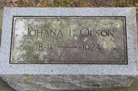 OLSON, JOHANA L. - Clay County, South Dakota | JOHANA L. OLSON - South Dakota Gravestone Photos
