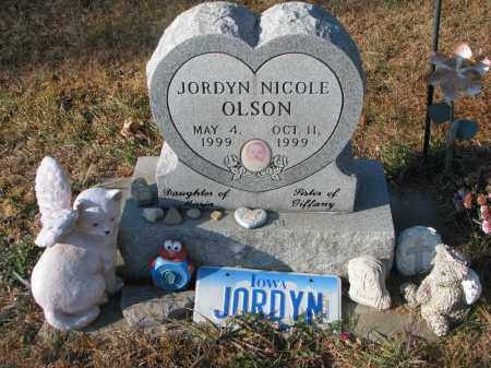 OLSON, JORDYN NICOLE - Clay County, South Dakota | JORDYN NICOLE OLSON - South Dakota Gravestone Photos