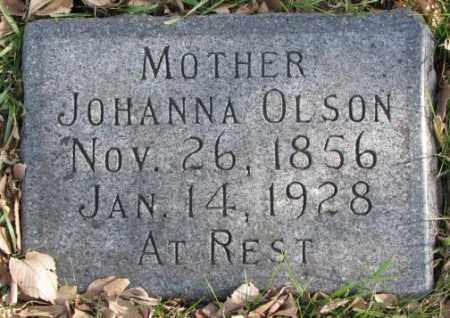 OLSON, JOHANNA - Clay County, South Dakota | JOHANNA OLSON - South Dakota Gravestone Photos