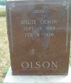 OLSON, KNUTE - Clay County, South Dakota | KNUTE OLSON - South Dakota Gravestone Photos