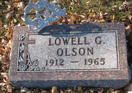OLSON, LOWELL G. - Clay County, South Dakota   LOWELL G. OLSON - South Dakota Gravestone Photos