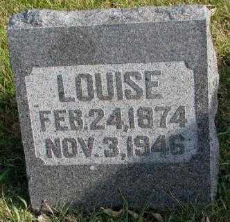 OLSON, LOUISE - Clay County, South Dakota | LOUISE OLSON - South Dakota Gravestone Photos