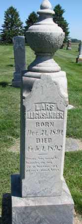 OLSON, LARS ALICKSANDER - Clay County, South Dakota | LARS ALICKSANDER OLSON - South Dakota Gravestone Photos