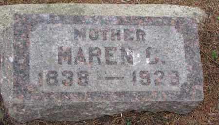 OLSON, MAREN C. - Clay County, South Dakota | MAREN C. OLSON - South Dakota Gravestone Photos