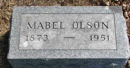 OLSON, MABEL - Clay County, South Dakota | MABEL OLSON - South Dakota Gravestone Photos